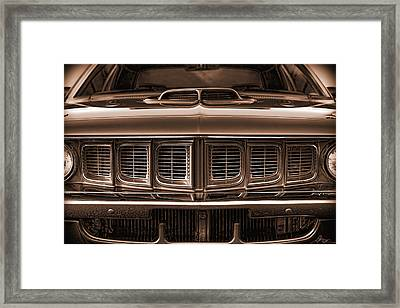 1971 Plymouth 'cuda 440 Framed Print