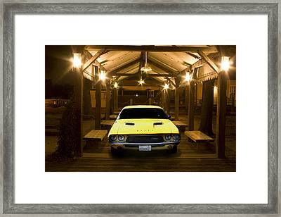 1972 Challenger Framed Print by Michael Cleere