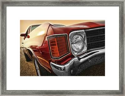 1972 Chevrolet Chevelle Ss  Framed Print