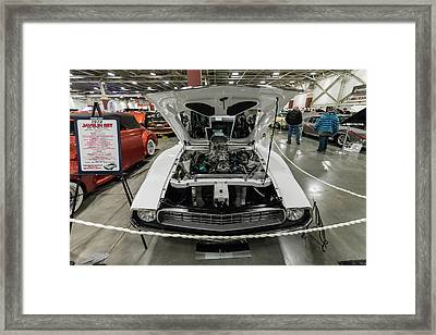 Framed Print featuring the photograph 1972 Javelin Sst 2 by Randy Scherkenbach
