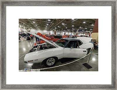 Framed Print featuring the photograph 1972 Javelin Sst by Randy Scherkenbach