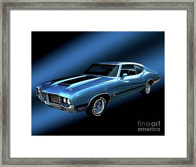 1972 Olds 442 Framed Print by Peter Piatt