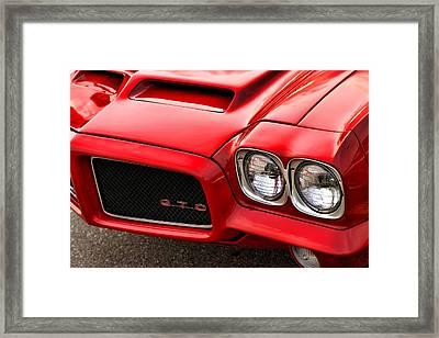 Framed Print featuring the photograph 1972 Pontiac Gto by Gordon Dean II