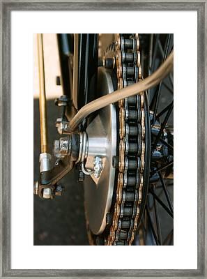 1972 Triumph Framed Print by Marley Holman