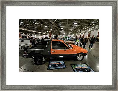 Framed Print featuring the photograph 1975 Amc Pacer by Randy Scherkenbach