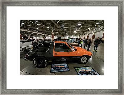 1975 Amc Pacer Framed Print by Randy Scherkenbach
