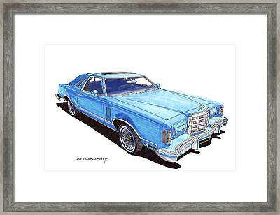 1979 Ford Thunderbird Framed Print