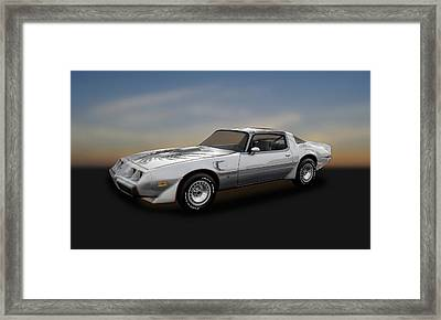 1979 Pontiac Firebird Trans Am 10th Anniversary  -  79pont985 Framed Print