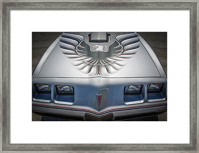 1979 Pontiac Trans Am Hood Firebird -0812c Framed Print by Jill Reger