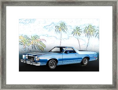 1979 Ranchero Gt 7th Generation 1977-1979 Framed Print