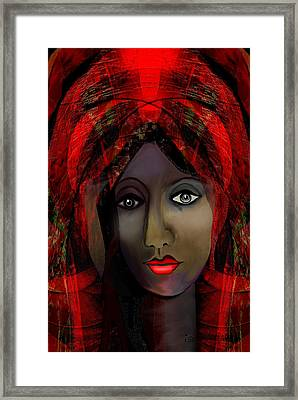 Framed Print featuring the digital art 1980 -  Leading Into Temptation 2017 by Irmgard Schoendorf Welch