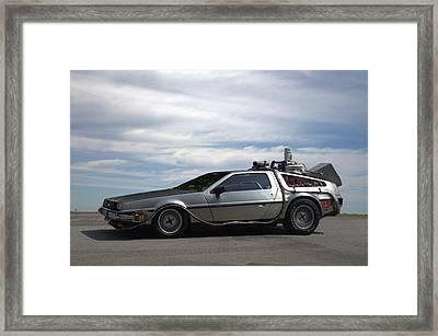 1981 Delorean Dmc12 Framed Print by Tim McCullough