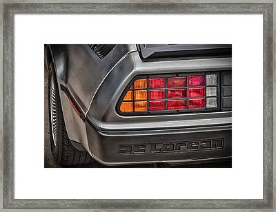 1981 Delorean Framed Print by James Woody