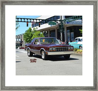 1983 Ford Fairmont Futura Starkey Framed Print