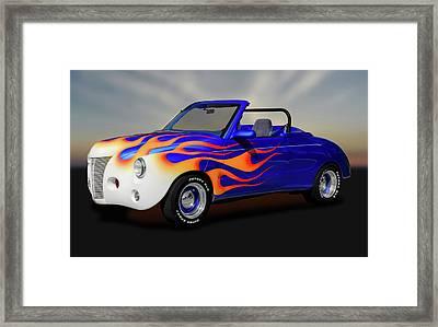 1985 Chevy S-10 Blazer - 1940 Caroselli Roadster  -  85s10blazercarosellirdstr170808 Framed Print