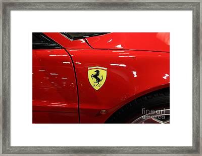1986 Ferrari Testarossa - 5d19894 Framed Print by Home Decor