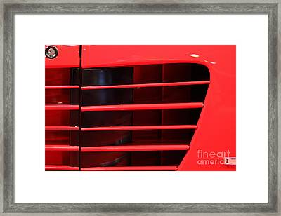 1986 Ferrari Testarossa - 5d20024 Framed Print by Home Decor