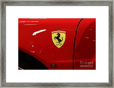 1986 Ferrari Testarossa - 5d20025 Framed Print by Home Decor