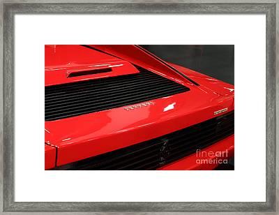 1986 Ferrari Testarossa - 5d20029 Framed Print by Home Decor