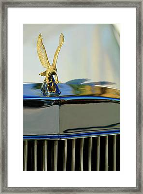 1986 Zimmer Golden Spirit Hood Ornament 2 Framed Print by Jill Reger