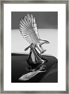 1986 Zimmer Golden Spirit Hood Ornament 3 Framed Print by Jill Reger