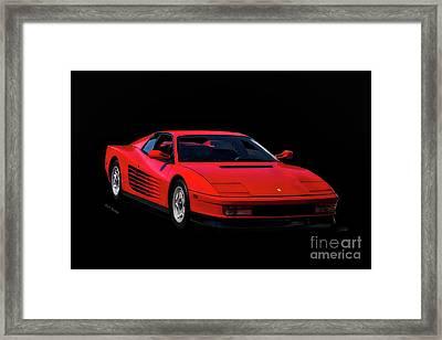 1987 Ferrari Testa Rossa Framed Print