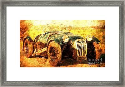 1988 Frazer Nash Le Mans, Classic Car, Husband Gift Framed Print by Pablo Franchi