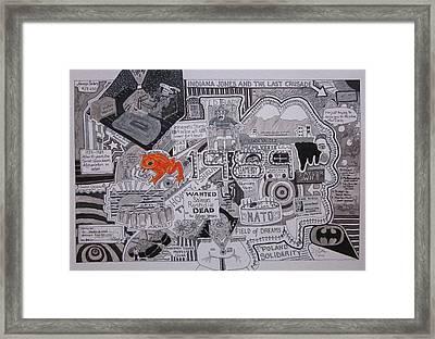 1989 Framed Print