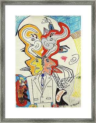 1991 - In Motion Framed Print by Robert SORENSEN