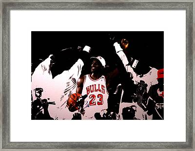 1992 Nba Finals  Framed Print