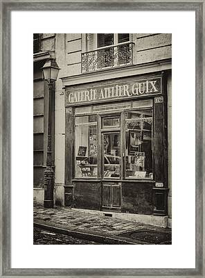 19th Century Atelier Framed Print by Pablo Lopez