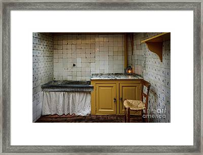 19th Century Kitchen In Amsterdam Framed Print by RicardMN Photography