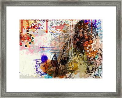1b Framed Print by Piotr Storoniak
