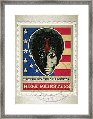1st Class Nina Simone Framed Print