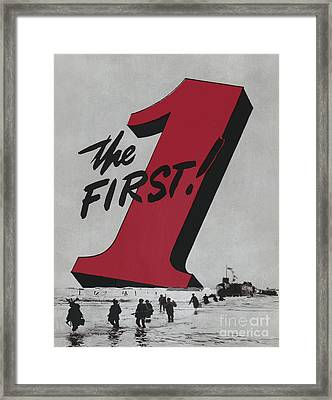 1st Infantry Division Of The U.s. Army Framed Print