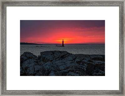 1st Light Framed Print by Paul Noble