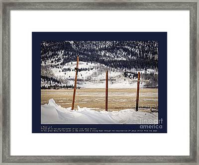1st Peter Framed Print
