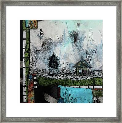 1tree, 1home By The Lake Framed Print