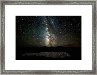 2 1/2 Mile High Milky Way Framed Print by Darren White