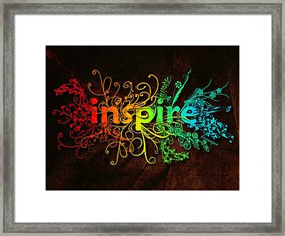 1 Other S Funky Colorful                  Framed Print