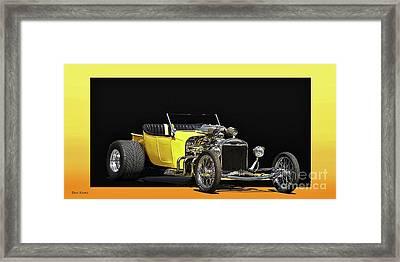 1923 Ford Model T Roadster Pickup Framed Print by Dave Koontz
