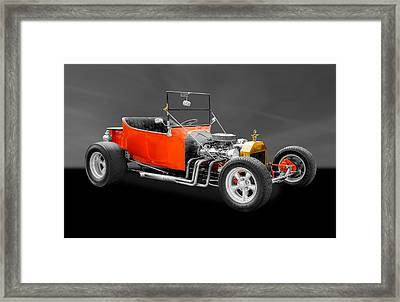 1923 Ford T-bucket Street Rod Framed Print by Frank J Benz