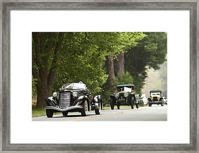 1936 Auburn 852 Supercharged Speedster  Framed Print