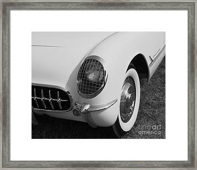 1953 Corvette Framed Print