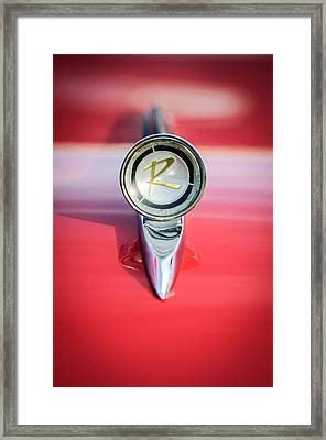 1961 Rambler Hood Ornament Framed Print by Jill Reger