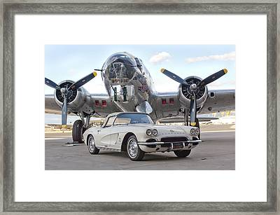1962 Chevrolet Corvette Framed Print