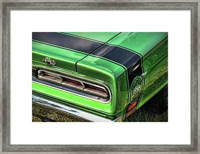 1969 Dodge Coronet Super Bee Framed Print