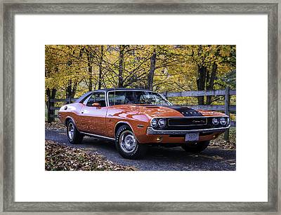 1970 Dodge Challenger Rt  Framed Print