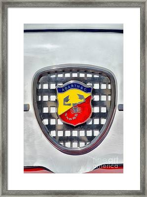 1980 Abarth 1000tc Framed Print