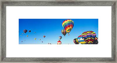 25th Albuquerque International Balloon Framed Print by Panoramic Images